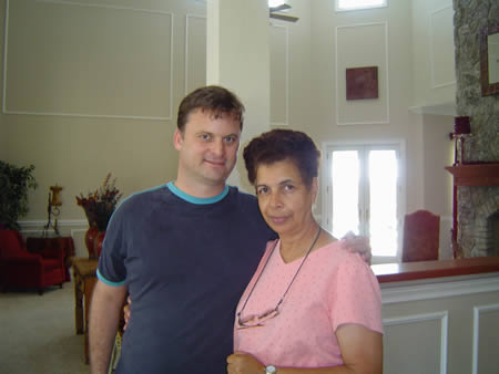 A photo of Ilona and Bryan Stephens