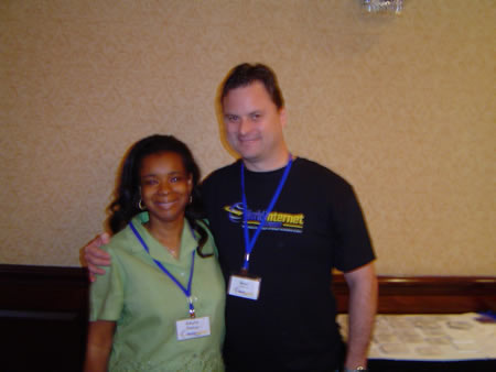 A photo of Adele Foster and me at WIS dallas