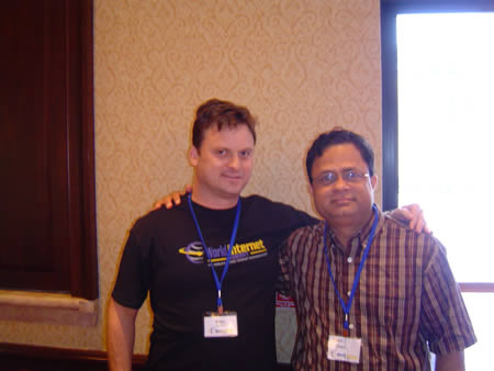 Raghu Suds and me at WIS Dallas
