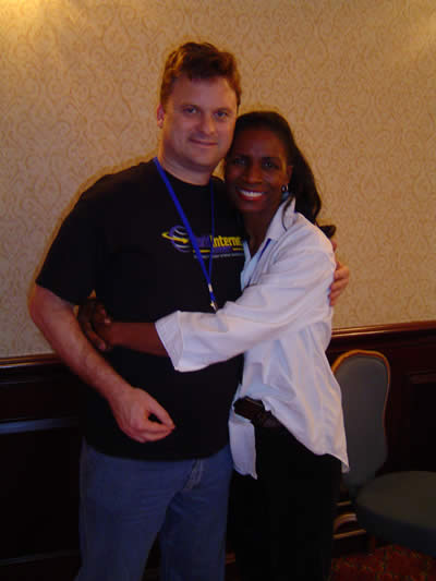 Rochelle Cummings and Me at WIS Dallas