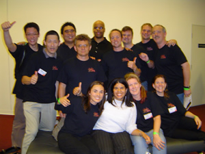 The Alpha Leadership group at the end of UYMG Sydney 2007