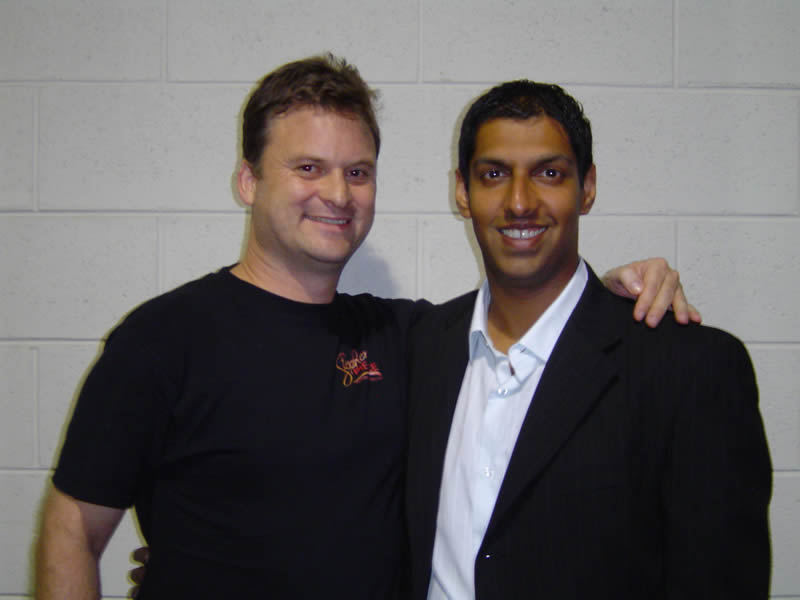 Nikhil Parekh and Bryan Stephens at UYMG 2008