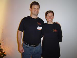 Photo of Kerri and me
