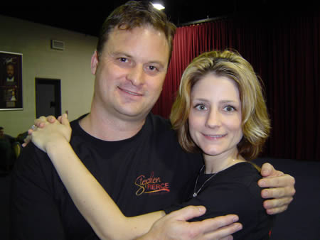 A photo of Laura Remeselnik and me at UYMG Sydney 2008