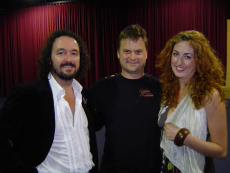 A photo of Alan Forrest Smith, his girlfriend and Bryan Stephens at UYMG Sydney 2008