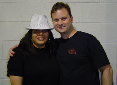 A photo of Alicia Pierce and me at UYMG Sydney 2008