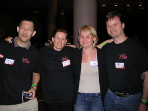 A photo of 4 members from the SE Queensland mastermind group